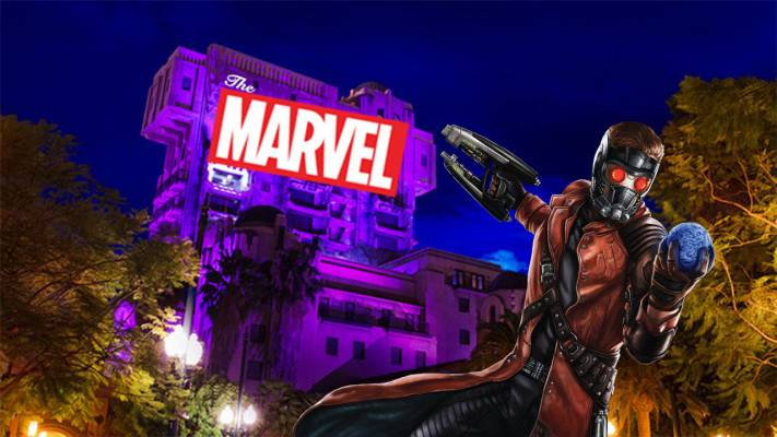Marvel Land en Disneyland